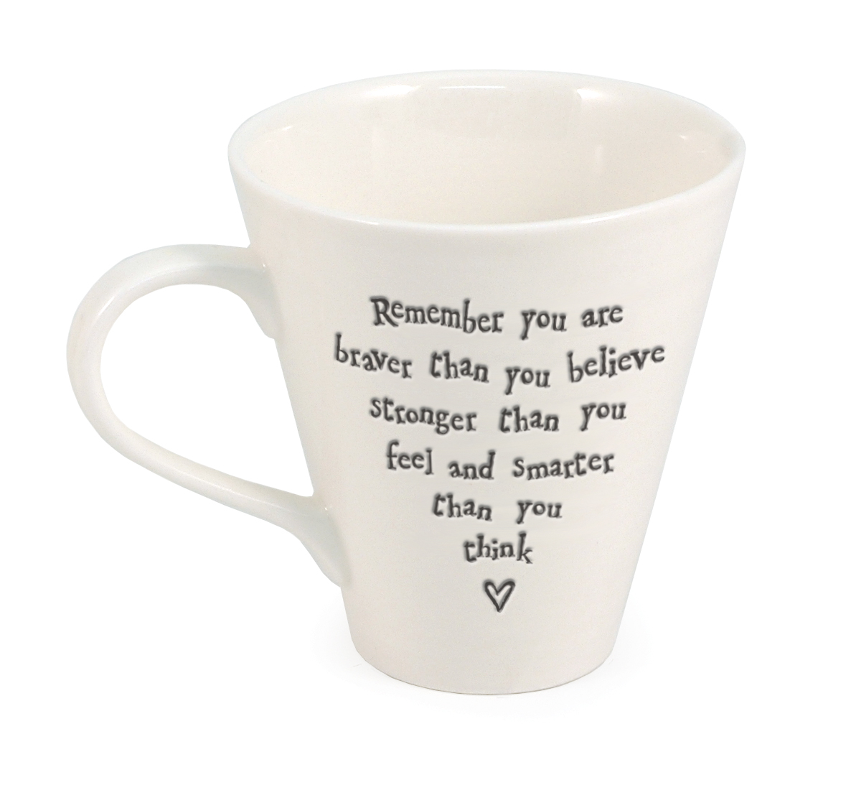 Ripple ceramic mug - Remember