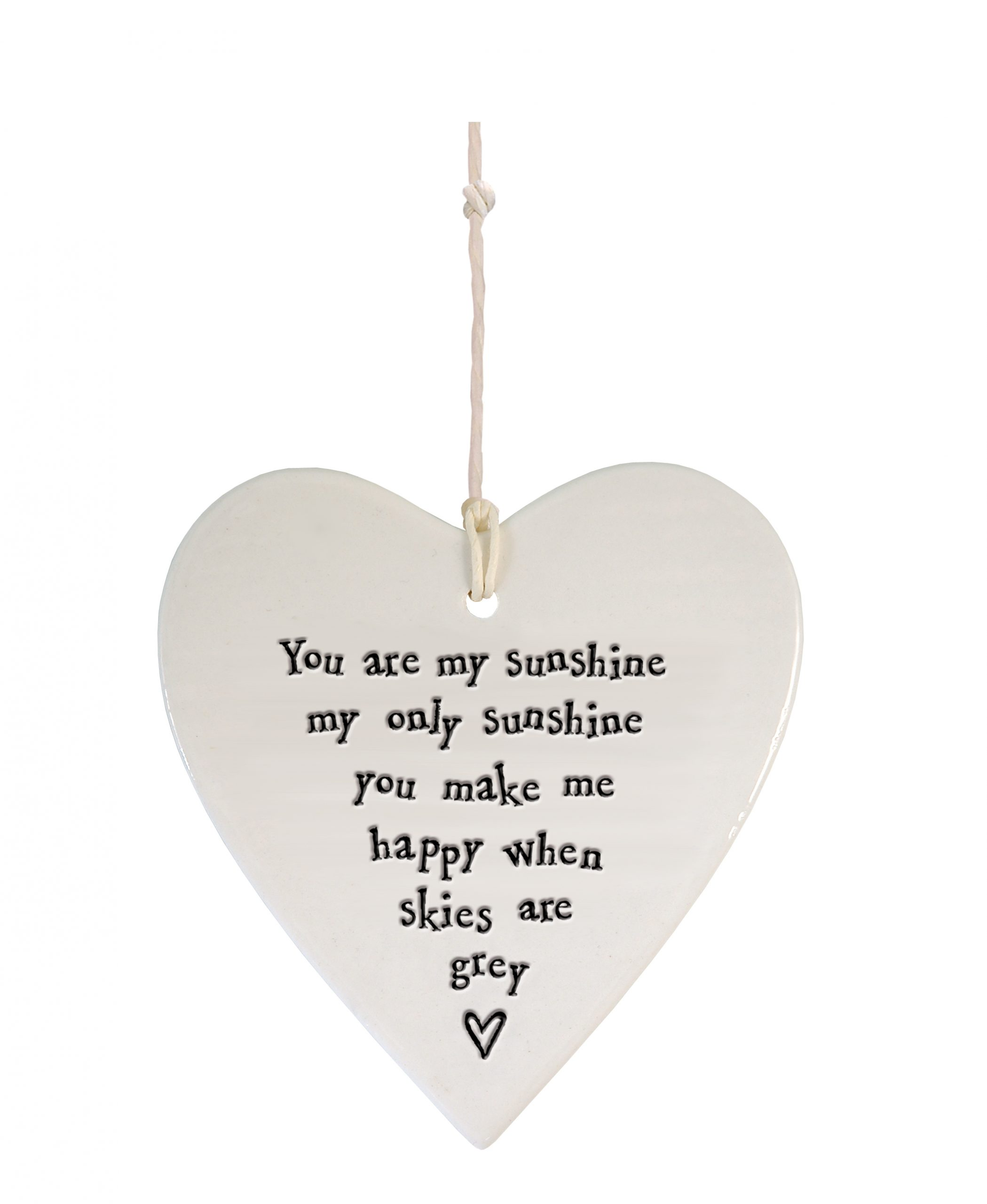 4193DH web Porcelain round heart Sunshine