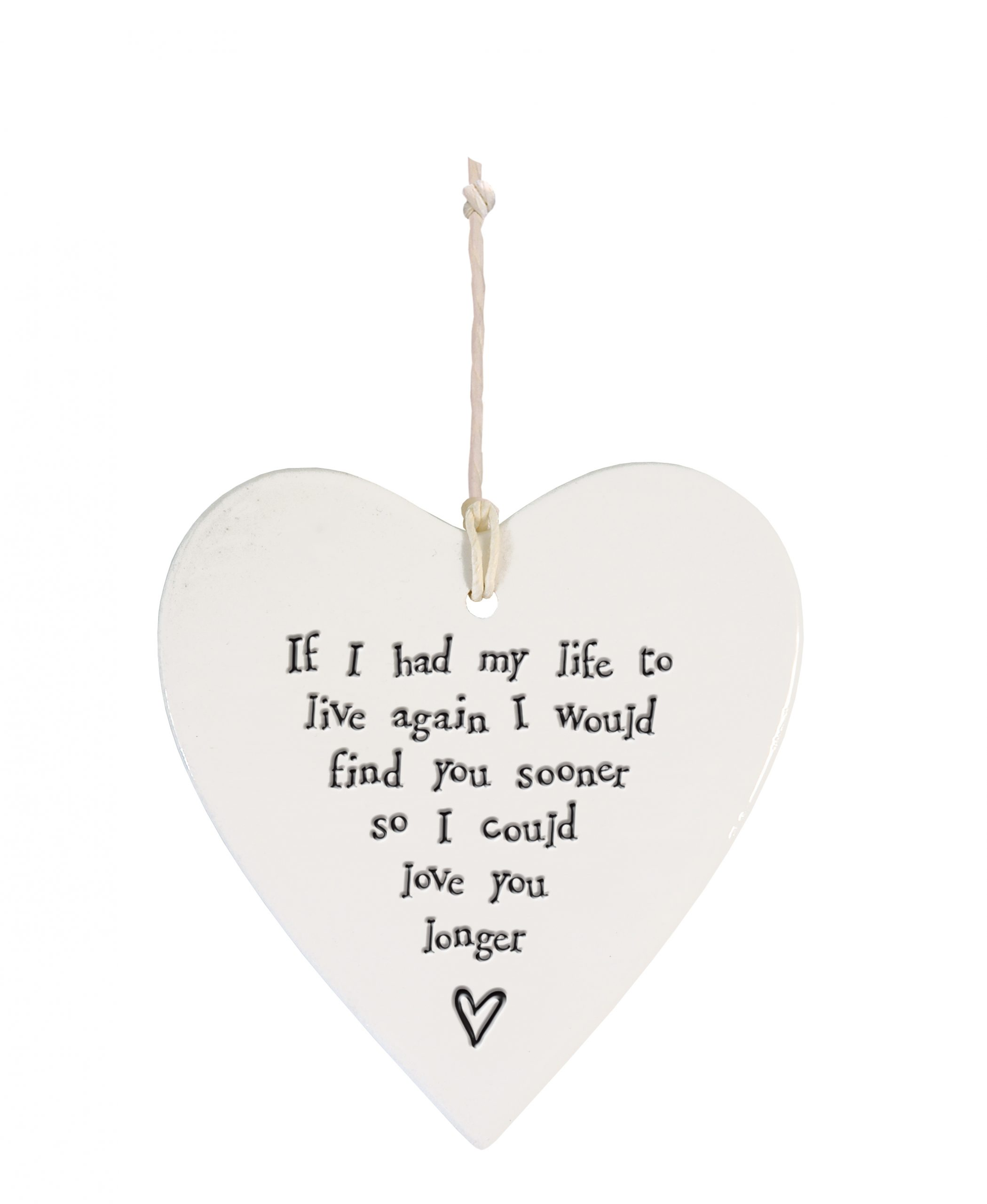 4202DH web Porcelain round heart If I had my life