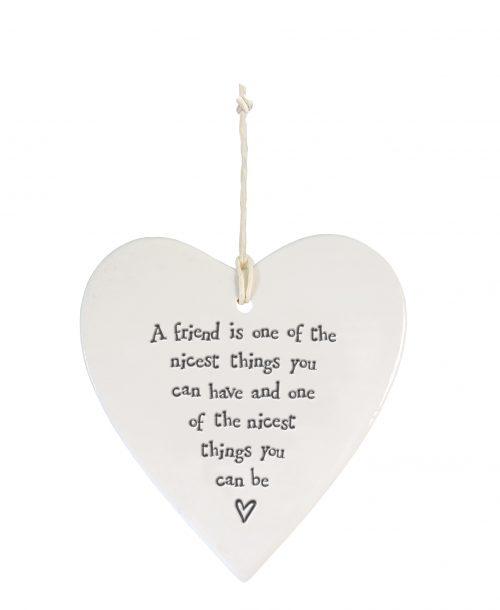 4208DH web Round heart - A friend is