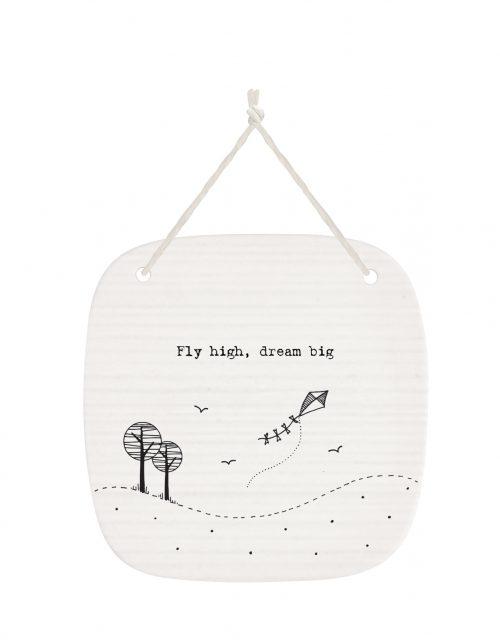 4266DH web Fly High Dream Big porcelain pic