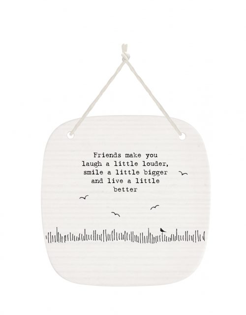 4272DH web Friends make you laugh porcelain pic