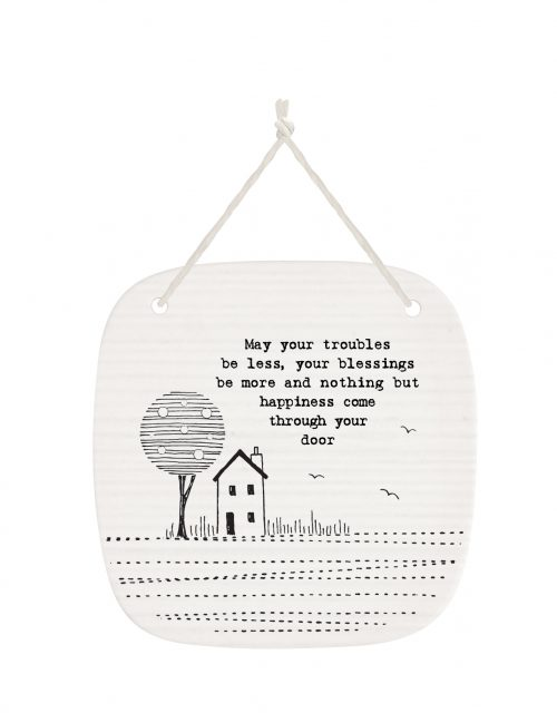 4277DH web May your troubles porcelain pic