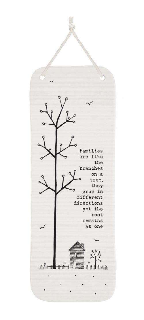 4291DH web Families are like branches porcelain long pic
