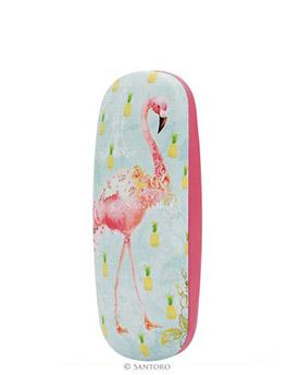 Flamingos Glasses Case