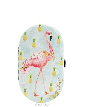 Flamingos Manicure Set