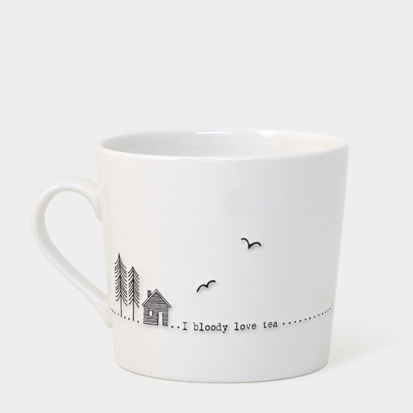 East of India Boxed Mug (I Bloody Love Tea)