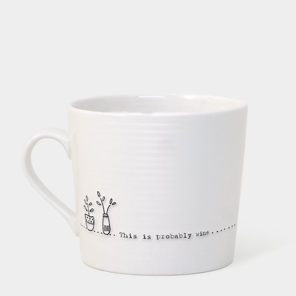 East of India Boxed Mug (This is Probably Wine)