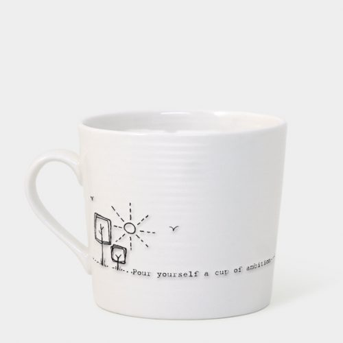 East of India Boxed Mug (Pour Yourself a Cup of Ambition)