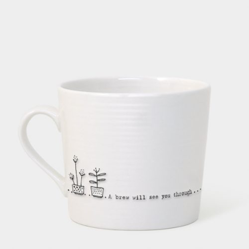 East of India Boxed Mug (A Brew Will See You Through)