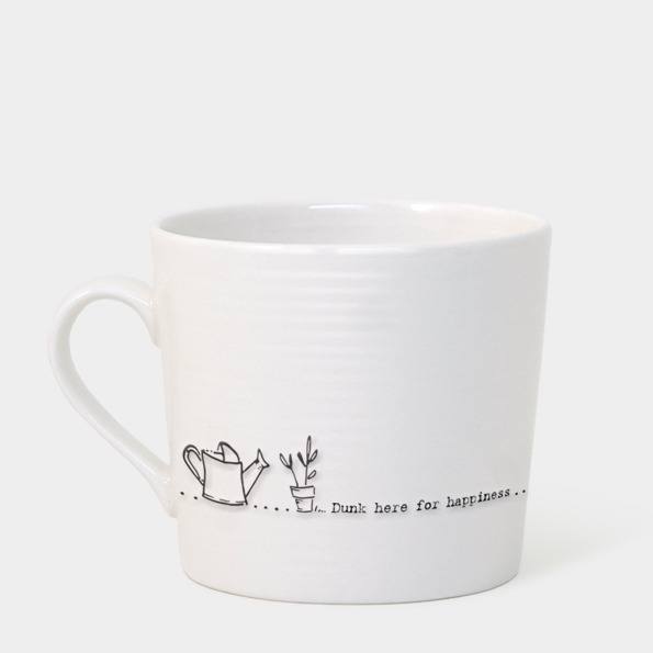 East of India Boxed Mug (Dunk Here For Happiness)