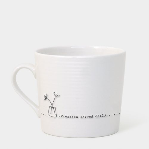 East of India Boxed Mug (Prosecco Served Daily)