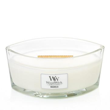 WoodWick Magnolia Hearthwick Jar Candle