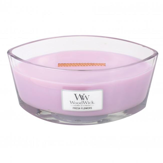 WoodWick Hearthwick Candle - Fresh Flowers
