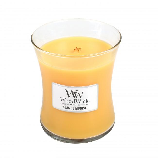 WoodWick Seaside Mimosa Medium Jar Candle