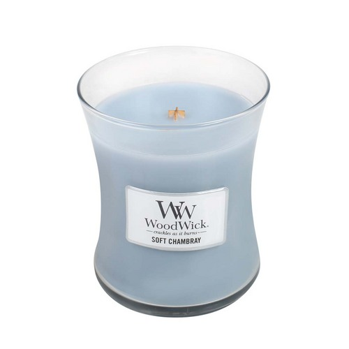 Soft Chambray Medium Jar Candle