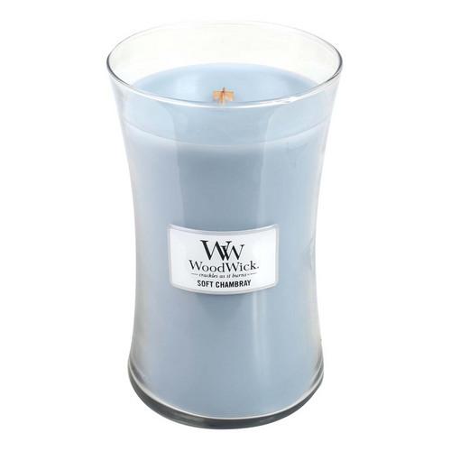 Soft Chambray Large Jar Candle