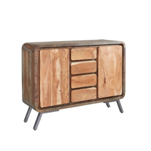 Aspen Iron/Wooden - Large Sideboard