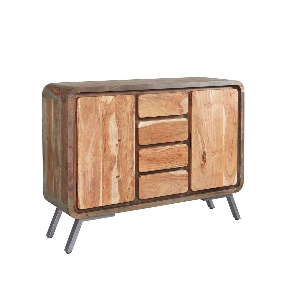 Aspen Iron/Wooden - Large Sideboard