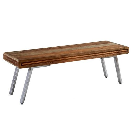 Aspen Iron/Wooden - Dining Bench