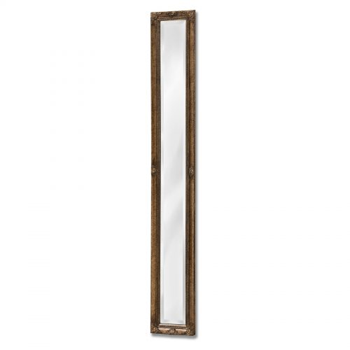 Antique Gold Narrow Wall Mirror