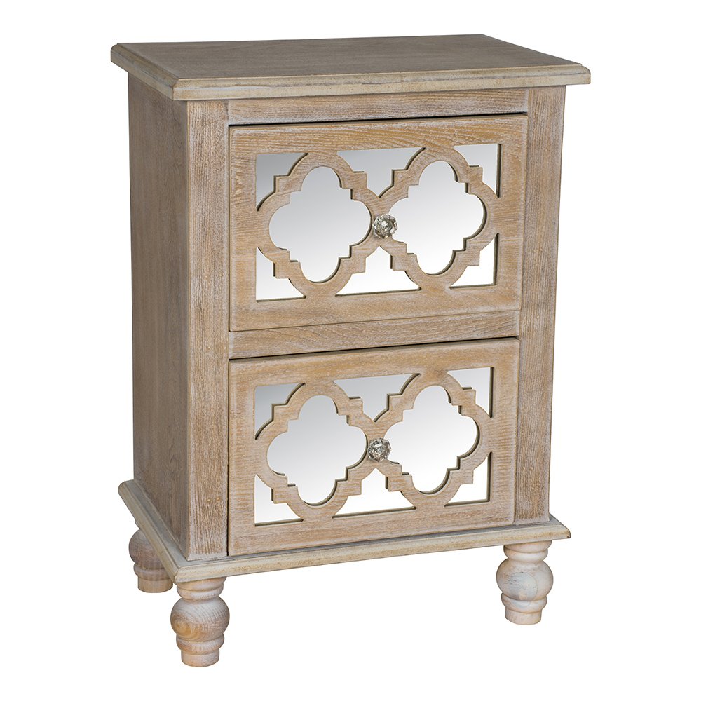 Aria 2 Drawer Chest of Drawers - DSB