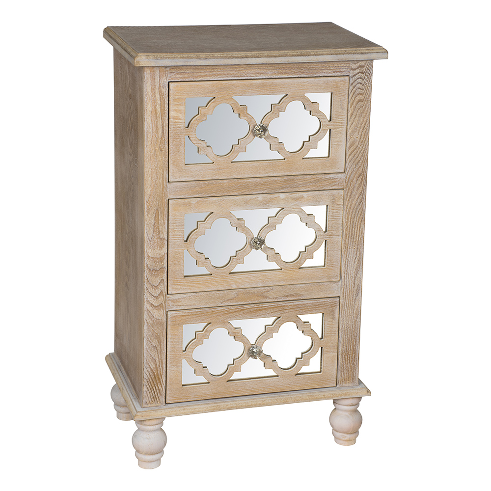 Aria 3 Drawer Chest - DSB