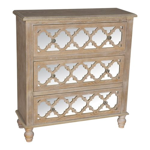 Aria 3 Drawer Chest of Drawers - DSC