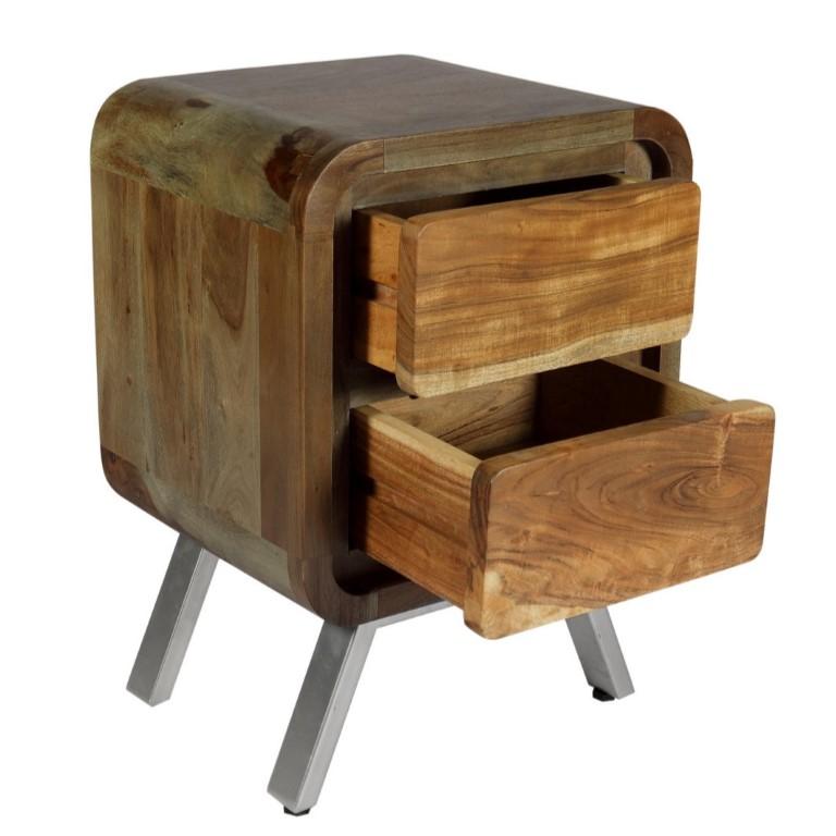 Aspen Greeno 2 Drawer Lamp Table