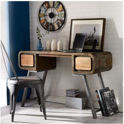 Aspen Iron Wooden - Greeno Console Table