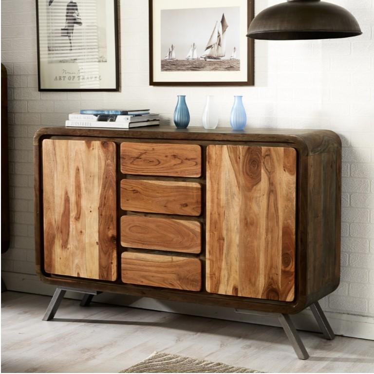 Aspen Iron Wooden - Greeno Sideboard