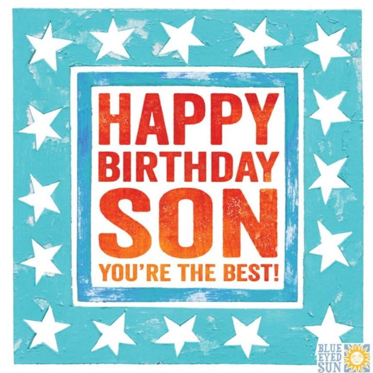 Best Son Birthday