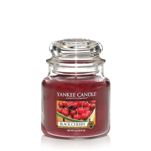 Black Cherry - Yankee Candle Medium Jar