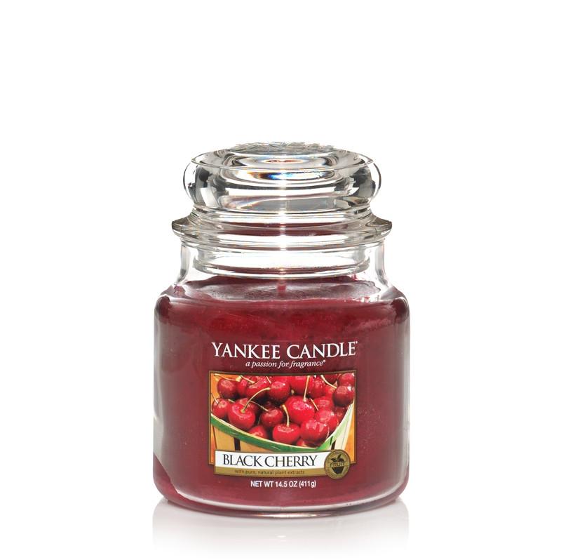 Black Cherry - Yankee Candle Medium Jar