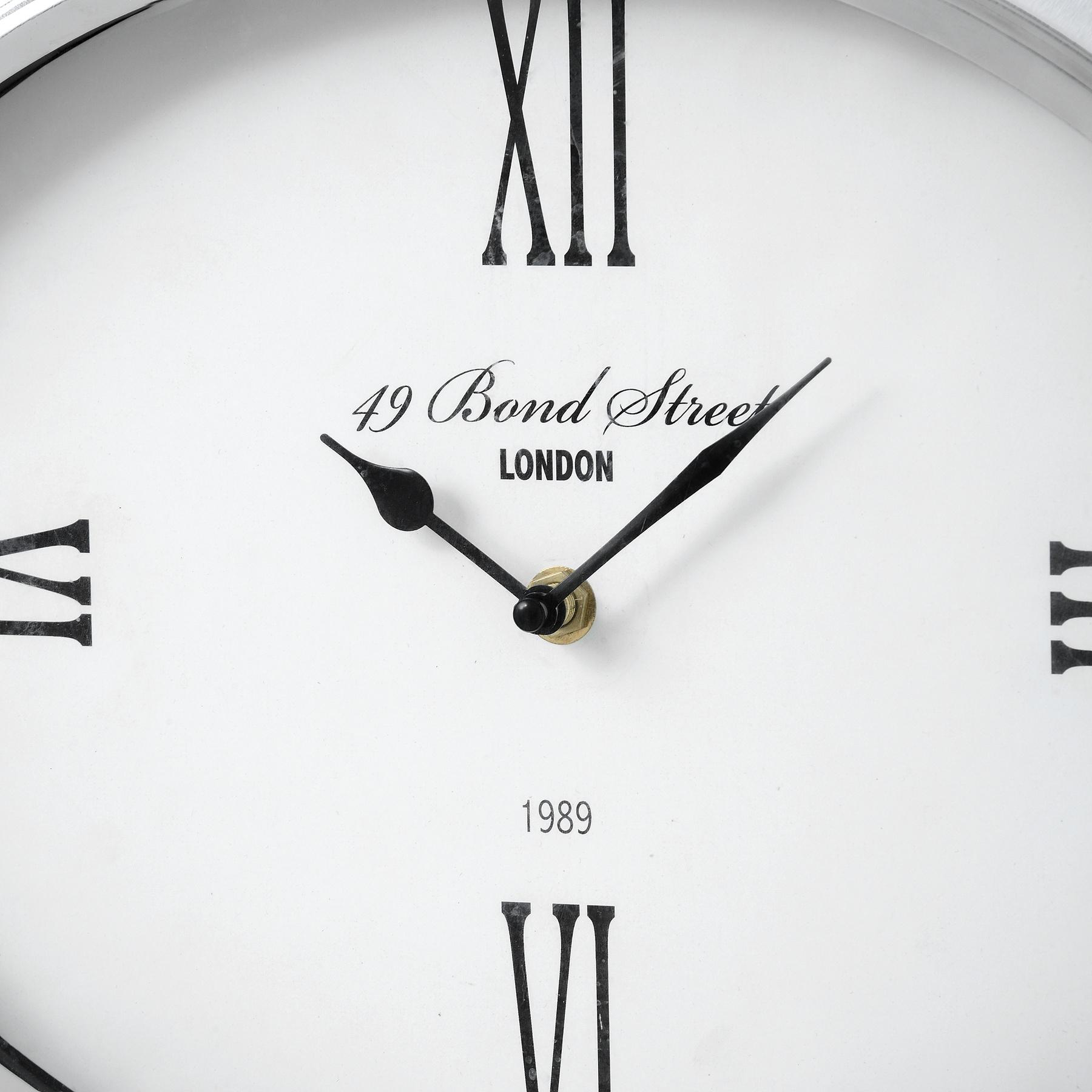 Bond Street London Oval Clock