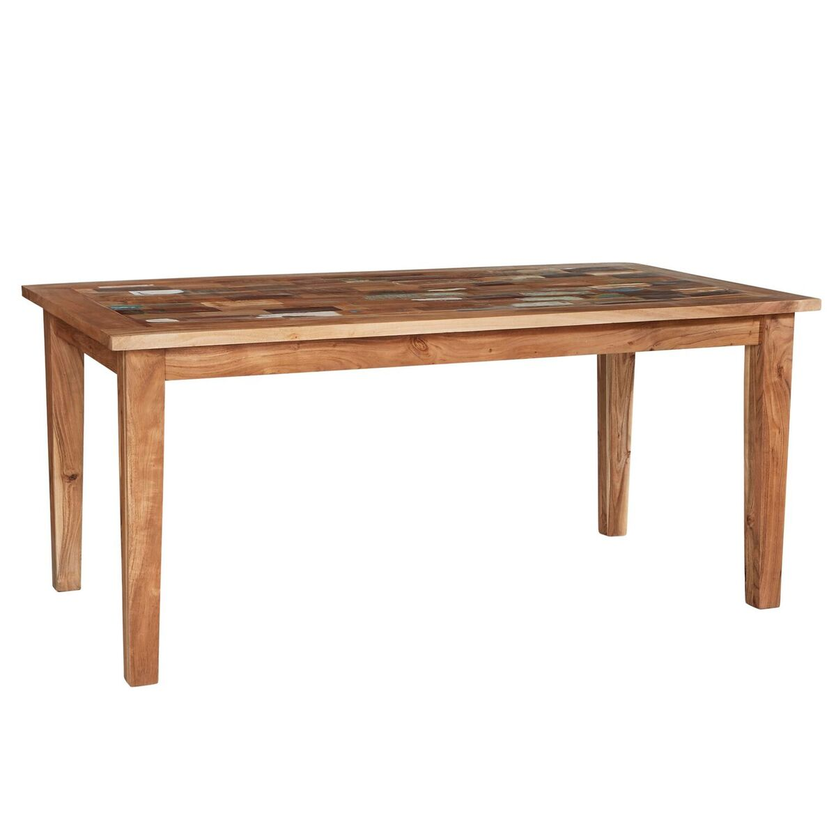 Coastal Reclaimed Wood Large Dining Table