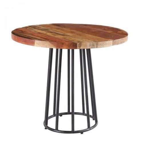 Coastal Reclaimed Wood Round Dining Table