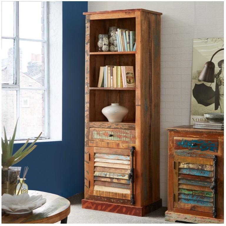 Coastal Reclaimed Wood Bookcase