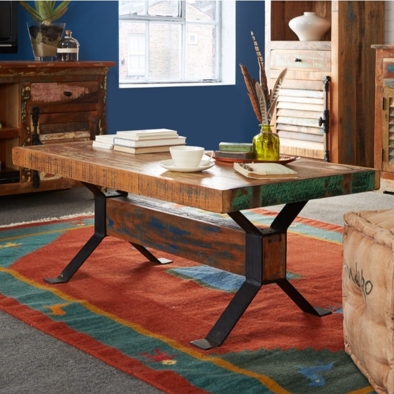 Coastal Reclaimed Wood Coffee Table