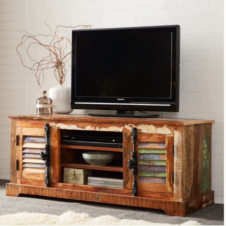Coastal Reclaimed Wood TV Media Unit