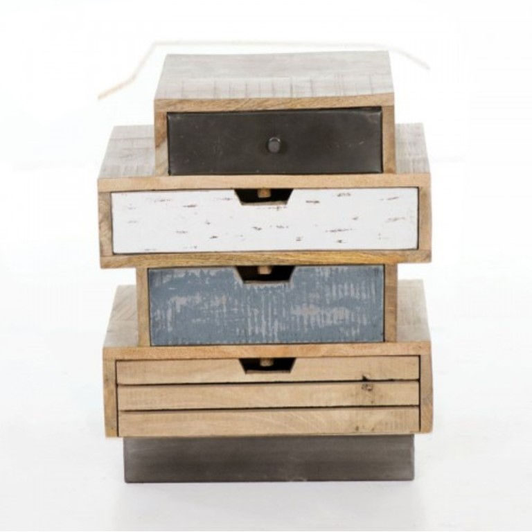 Contemporary Quirky Set of Drawers
