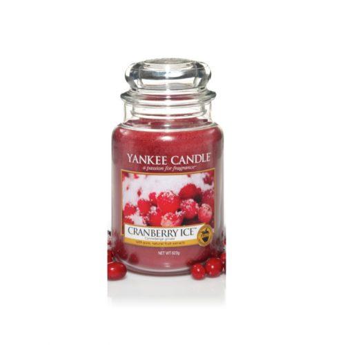 Cranberry Ice Large Jar Candle