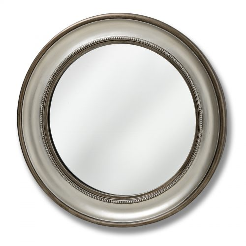 Detailed Circular Wall Mirror