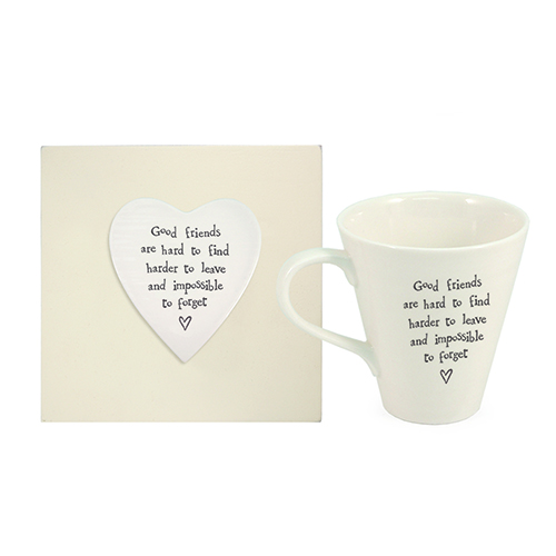 Good Friends Boxed Mug