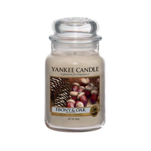 Ebony & Oak Large Jar Candle