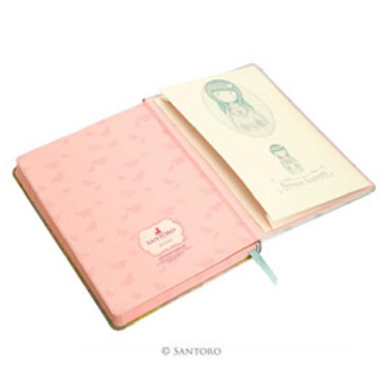 Gorjuss Hardcover Notebook - Seven Sisters (Inside 1)