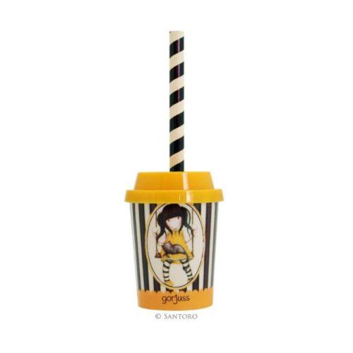 Gorjuss Milkshake Sharpener (Yellow)