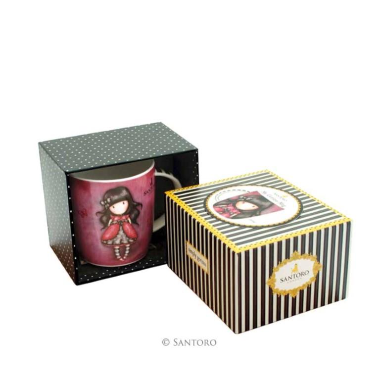 Gorjuss Mug in a Gift Box - Ladybird