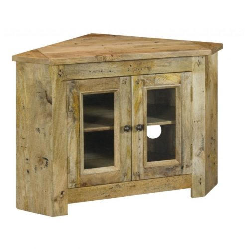 Granary Royale Glazed Corner TV Cabinet