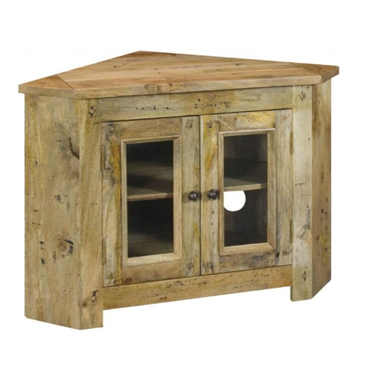 Granary Royale Glazed Corner TV Cabinet